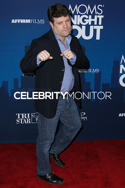 "HOLLYWOOD, LOS ANGELES, CA, USA - APRIL 29: Sean Astin at the Los Angeles Premiere Of TriStar Pictures' ""Mom's Night Out"" held at the TCL Chinese Theatre IMAX on April 29, 2014 in Hollywood, Los Angeles, California, United States. (Photo by Xavier Collin/Celebrity Monitor)"