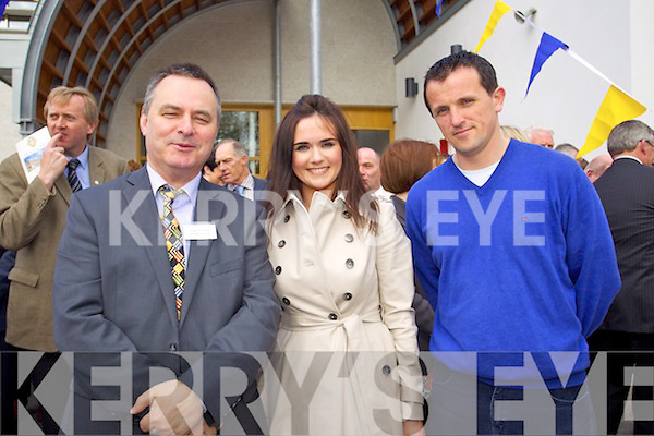 Pictured at the CBS, The Green Tralee, opening of the new extention of the school on Friday last, were l-r: Liam Waldron, Ellen McGillycuddy and Ruairi O'Rahilly.