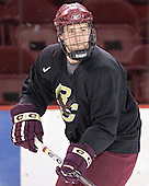 Tim Filangieri - Boston College's morning skate on Friday, December 30, 2005 at Magness Arena in Denver, Colorado.  Boston College defeated Ferris State that afternoon in a shootout and defeated Princeton the following night to win the Denver Cup.