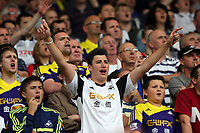 Pictured: Swansea supporters.<br />