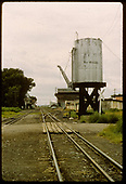 Dual track, water tank, station.<br /> D&amp;RGW  La Jara, CO  Taken by Jenkins, N. P. - 7/31/1968