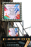 'Sunday in the Park with George' - Theatre Marquee