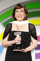 Actress Carmen Maura receives the 'Donostia' Award 2013 during the 61 San Sebastian Film Festival, in San Sebastian, Spain. September 22, 2013. (ALTERPHOTOS/Victor Blanco) /NortePhoto