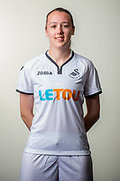 Wedensday 26 July 2017<br />Pictured: Kirsty O'Donnell<br />Re: Swansea City Ladies Squad 2017- 2018 at the Liberty Stadium, Wales, UK
