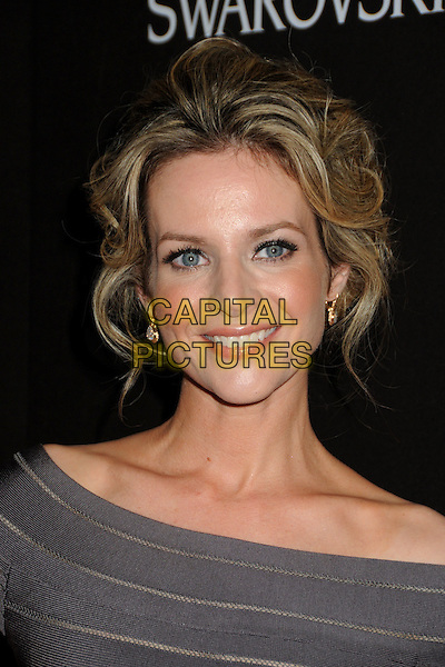 JESSALYN GILSIG .Attending the 12th Annual Costume Designers Guild Awards held at the Beverly Hilton Hotel.  .Beverly Hills, California, USA,  .25th February 2010 .arrivals portrait headshot grey gray smiling .CAP/ADM/BP.©Byron Purvis/AdMedia/Capital Pictures.