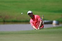 Padraig Harrington (IRL) chips onto the par3 12th green during Sundays Final Round 3 of the 54 hole Iskandar Johor Open 2011 at the Horizon Hills Golf Resort Johor, Malaysia, 19th November 2011 (Photo Eoin Clarke/www.golffile.ie)