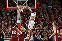 March 9, 2014: Shavon Shields (31) of the Nebraska Cornhuskers dunks the ball during the first half against the Wisconsin Badgers at the Pinnacle Bank Arena, Lincoln, NE. Nebraska 77 Wisconsin 68.