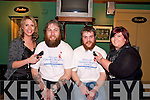 Charity: Pictured raising money in aid of Our Ladys Children Hospital, Crumlin by having a sponsored beard shave in Holly Bar, Ballybunion, on Saturday night are l-r: Rosemarie Enright, Ray Flavin, JP Kelly & Anna Marie Crowe, Ballybunion...