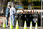 The city of LA held it's annual gun buyback program earlier than planned in response to the Newtown shooting. Citizens who turned in guns to buyback program, via the LAPD, would receive either $100 or $200 gift cards for food. This is a no questions asked gun buyback program, and hundreds of people waited in long lines to turn in their guns.