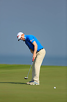 Gavin Moynihan (IRL) during the first round of the NBO Open played at Al Mouj Golf, Muscat, Sultanate of Oman. <br /> 15/02/2018.<br /> Picture: Golffile | Phil Inglis<br /> <br /> <br /> All photo usage must carry mandatory copyright credit (&copy; Golffile | Phil Inglis)