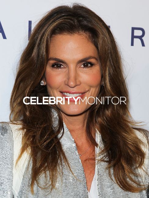 WEST HOLLYWOOD, CA, USA - OCTOBER 23: Cindy Crawford arrives at Brian Bowen Smith's First Solo Show 'Wildlife' held at the De Re Gallery on October 23, 2014 in West Hollywood, California, United States. (Photo by Celebrity Monitor)