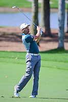 Sergio Garcia (ESP) watches his approach shot on 9 during round 1 of the Honda Classic, PGA National, Palm Beach Gardens, West Palm Beach, Florida, USA. 2/23/2017.<br /> Picture: Golffile | Ken Murray<br /> <br /> <br /> All photo usage must carry mandatory copyright credit (&copy; Golffile | Ken Murray)