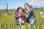 Hannah Reidy, Molly and Jennifer O'Carroll. at the Dog Show and Fun Day fundraiser for Irish Guide Dogs at the John Mitchels sports complex on Saturday