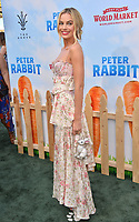 Margot Robbie at the world premiere for &quot;Peter Rabbit&quot; at The Grove, Los Angeles, USA 03 Feb. 2018<br /> Picture: Paul Smith/Featureflash/SilverHub 0208 004 5359 sales@silverhubmedia.com