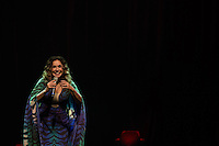 """SÃO PAULO, SP, 08.11.2016 - SHOW-SP - Daniela Mercury realiza o show de lançamento do dvd """"O axé, a voz e o violão"""" no Teatro Porto Seguro, no centro de São Paulo, na noite desta sexta-feira, dia 8. (Foto: Ciça Neder / Brazil Photo Press)"""