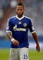 FUSSBALL   1. BUNDESLIGA   SAISON 2013/2014   8. SPIELTAG FC Schalke 04 - FC Augsburg                                05.10.2013 Dennis Aogo (FC Schalke 04)