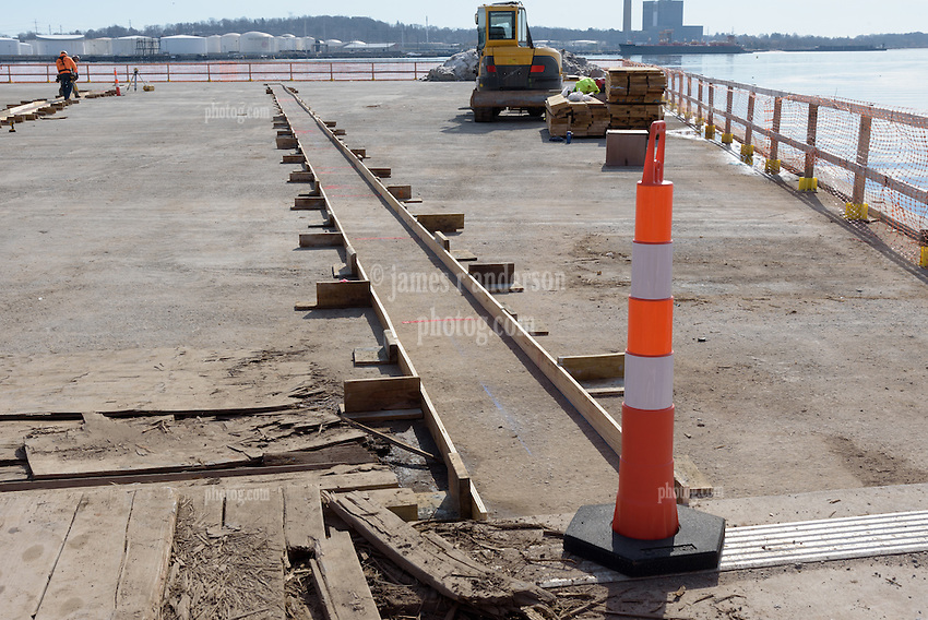Boathouse at Canal Dock Phase II   State Project #92-570/92-674 Construction Progress Photo Documentation No. 08 on 21 February 2017. Image No. 05