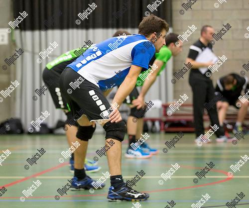 2016-10-15 / Volleybal/ seizoen 2016-2017 / Mendo - Topsportschool /  Wout Ponnet (Mendo)  ,Foto: Mpics.be