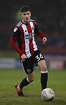 David Brooks of Sheffield Utd during the Championship match at Bramall Lane Stadium, Sheffield. Picture date 02nd April, 2018. Picture credit should read: Simon Bellis/Sportimage
