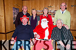 Ballybunion Senior Citizens Party:Attending the Ballybunion Senior Citizens Party at the Golf Hotel on Friday night last were in front Michael Dowling, Santa Claus (Bosco McMahon) & Jean Murphy. Back : Ned Kennelly, Treasa O'Sullivan, Mary Cox & Christy Moloney.