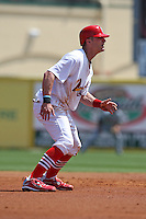 March 20, 2010:  Brendan Ryan (13) of the St. Louis Cardinals during a Spring Training game at the Roger Dean Stadium Complex in Jupiter, FL.  Photo By Mike Janes/Four Seam Images