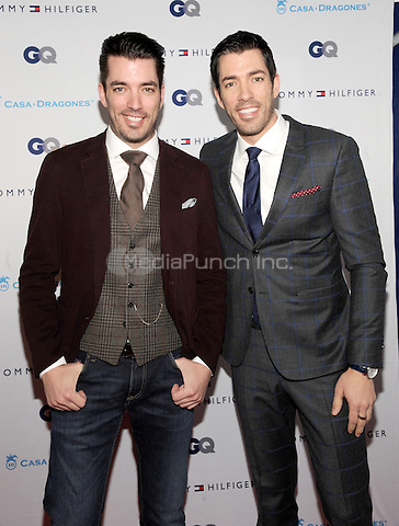 New York, NY- December 11:  Drew Scott and Jonathan Scott attend the Tommy Hilfiger and GQ event honoring The Men Of New York at the Tommy Hilfiger Flagship on December 11, 2014 in New York City. Credit: John Palmer/MediaPunch