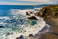 Seascape near Coleman Beach along Highway 1, Sonoma County, California USA