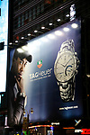 Tiger Woods Billboard Advertisment Promotion for TAG HEUER on February 10, 2008 in Times Square,<br />