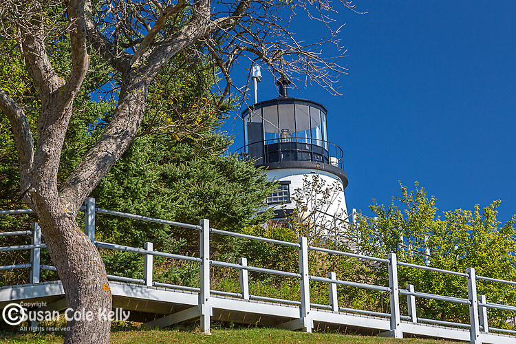 Owl's Head Light in Owl's Head, ME, USA