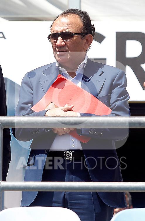 Spanish players agent, Manuel Garcia Quilon. July 6, 2015. (ALTERPHOTOS/Acero)