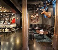 Constantine bar lounge in Minneapolis.