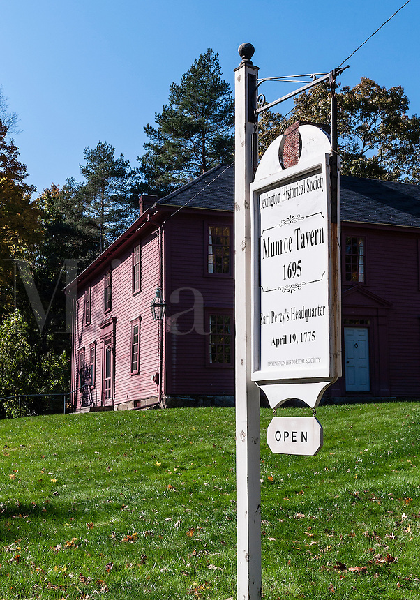 Historic Munroe Tavern, Lexington, Massachusetts, USA