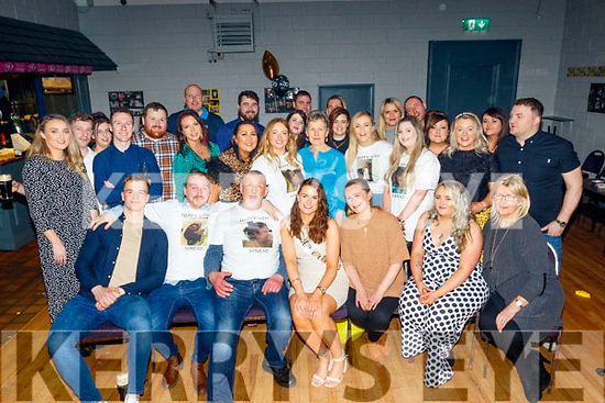Sinead Nic Iomhargain from Tralee, seated centre celebrated her 30th birthday in the Austin Stacks GAA clubhouse, Connolly Park, Tralee last Saturday night along with family and many guests.