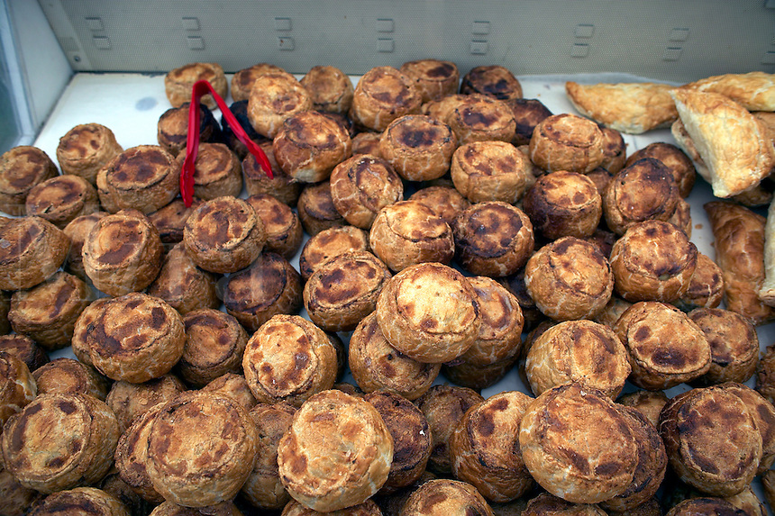 Traditional English fare. Meat pies