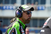 Sept. 22, 2012; Ennis, TX, USA: NHRA John Paul DeJoria father of funny car driver Alexis DeJoria during qualifying for the Fall Nationals at the Texas Motorplex. Mandatory Credit: Mark J. Rebilas-