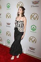 LOS ANGELES - JAN 19:  Alison Brie at the 2019 Producers Guild Awards at the Beverly Hilton Hotel on January 19, 2019 in Beverly Hills, CA