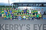 UP KERRY: Up Kerry they were shouting as they made their way on to the Bus for the All Iresland Semi Final between Dublin and Kerry were Young players from Na Gaeil and their mentors on Sunday morning.
