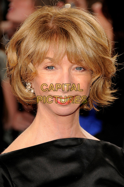 HELEN WORTH .Arrivals - the British Soap Awards 2009,.BBC Television Centre, Wood Lane, London, England, UK, May 9th 2009..soaps tv portrait headshot black .CAP/CAS.©Bob Cass/Capital Pictures