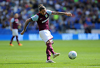 Aston Villa's Henri Lansbury in action<br /> <br /> Photographer Ashley Crowden/CameraSport<br /> <br /> The EFL Sky Bet Championship - Cardiff City v Aston Villa - Saturday August 12th 2017 - Cardiff City Stadium - Cardiff<br /> <br /> World Copyright &copy; 2017 CameraSport. All rights reserved. 43 Linden Ave. Countesthorpe. Leicester. England. LE8 5PG - Tel: +44 (0) 116 277 4147 - admin@camerasport.com - www.camerasport.com