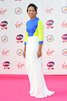 NON EXCLUSIVE PICTURE: PAUL TREADWAY / MATRIXPICTURES.CO.UK<br /> PLEASE CREDIT ALL USES<br /> <br /> WORLD RIGHTS<br /> <br /> Laotian-British tennis player Anne Keothavong attending the WTA Pre Wimbledon Party, at London's Kensington Roof Gardens.<br /> <br /> 20TH JUNE 2013<br /> <br /> REF: PTY 134225