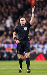 Referee Szymon Marciniak in action during the 2016-17 UEFA Champions League match between Real Madrid and Borussia Dortmund at the Santiago Bernabeu Stadium on 07 December 2016 in Madrid, Spain. Photo by Diego Gonzalez Souto / Power Sport Images