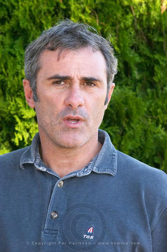 Hervé Lamothe owner and winemaker - Chateau Haut Bergeron, Sauternes, Bordeaux