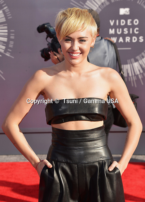Miley Cyrus 106 at the  MTV Video Music Awards at the Great Western Forum in Los Angeles.
