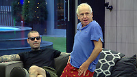 Shane Lynch, Wayne Sleep<br /> Celebrity Big Brother 2018 - Day 30<br /> *Editorial Use Only*<br /> CAP/KFS<br /> Image supplied by Capital Pictures