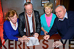 taking part in the Listowel Macra Na Feirme Table Quiz in the Three Mermaids bar Listowel on Friday night were Kathleen, Gerard, Judith and Dr. Louis O'Carroll..