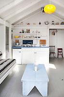 cottage style open plan kitchen