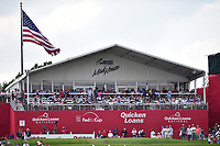 Bethesda, MD - July 2, 2017: A shot of the fans on hole sixteen during final round of professional play at the Quicken Loans National Tournament at TPC Potomac at Avenel Farm in Bethesda, MD.  (Photo by Phillip Peters/Media Images International)