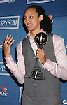 LOS ANGELES, CA - JULY 11: Brittney Griner poses in the press room during the 2012 ESPY Awards at Nokia Theatre L.A. Live on July 11, 2012 in Los Angeles, California.