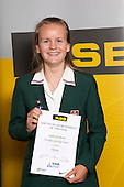 Rowing Girls winner Sophie Dec Barnes from Westlake Girls High School. ASB College Sport Young Sportsperson of the Year Awards held at Eden Park, Auckland, on November 11th 2010.