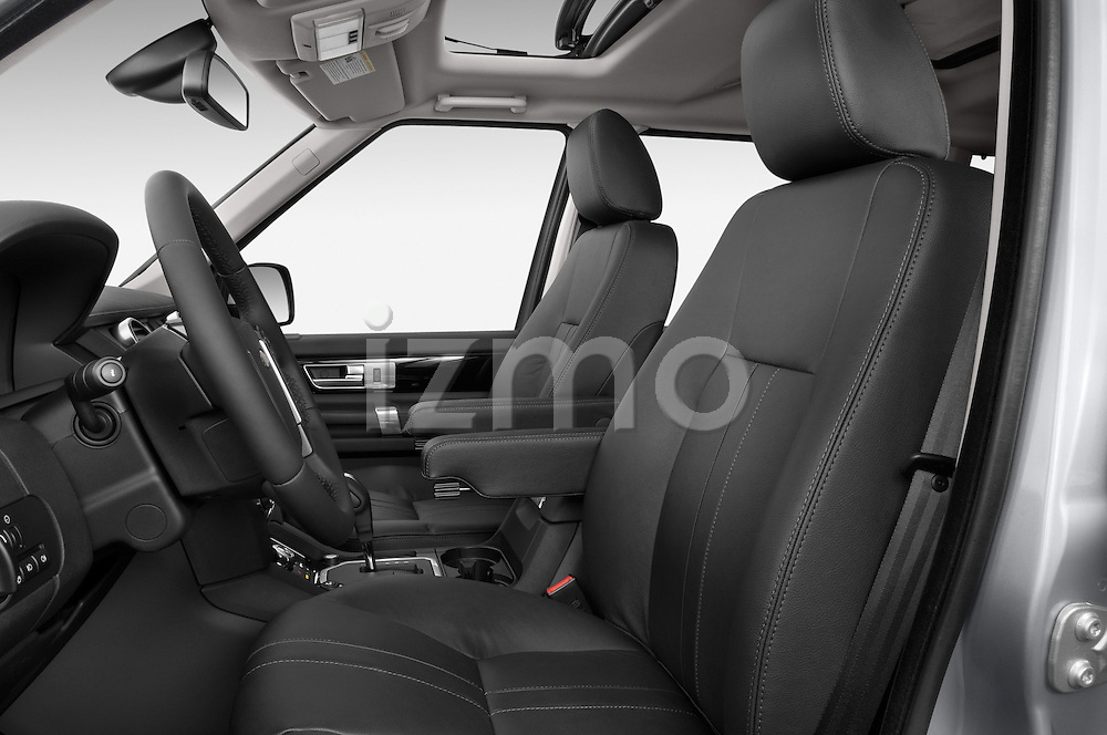 Front seat view of a 2014 Land Rover LR4 Base 5 Door SUV Front Seat car photos